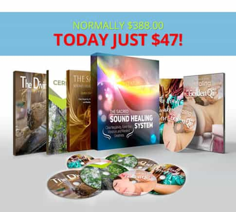 The Sacred Sound Healing System Book